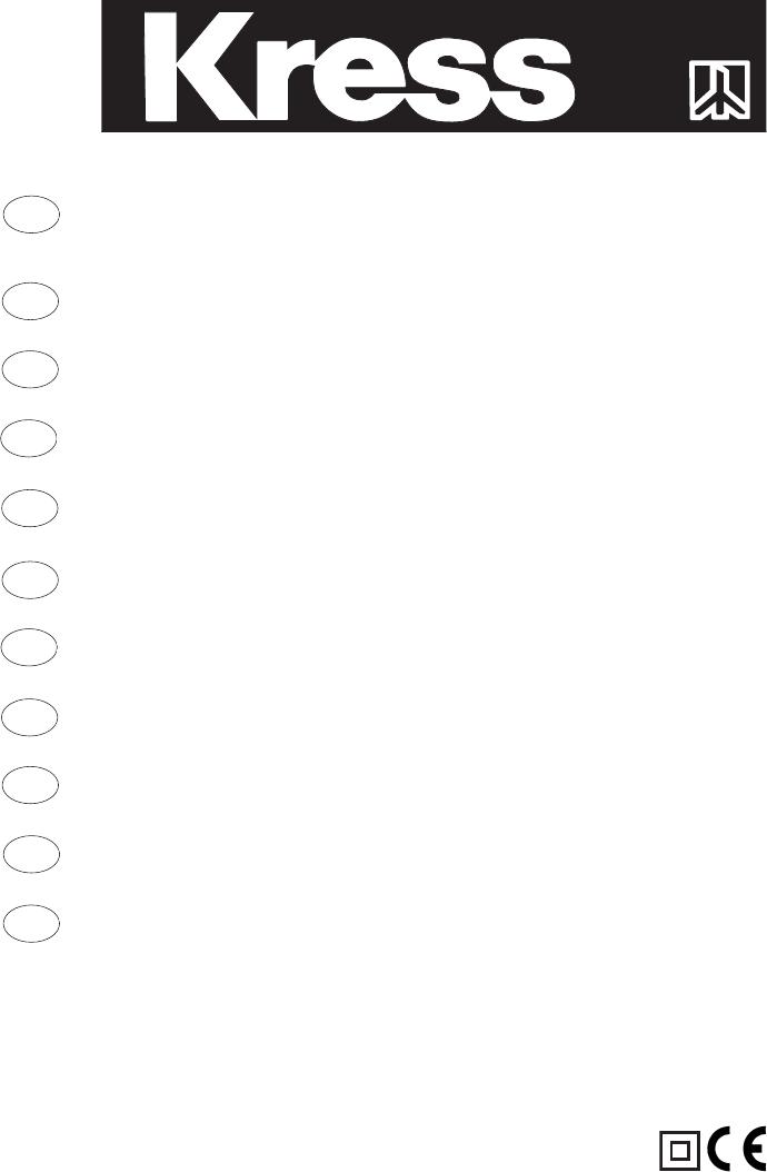 Bedienungsanleitung Kress cst 6242 e (Seite 1 von 46