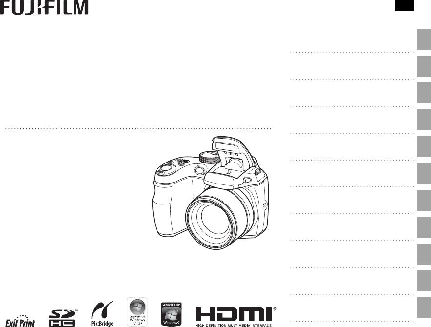 Bedienungsanleitung Fujifilm Finepix S1800 serie (Seite 1