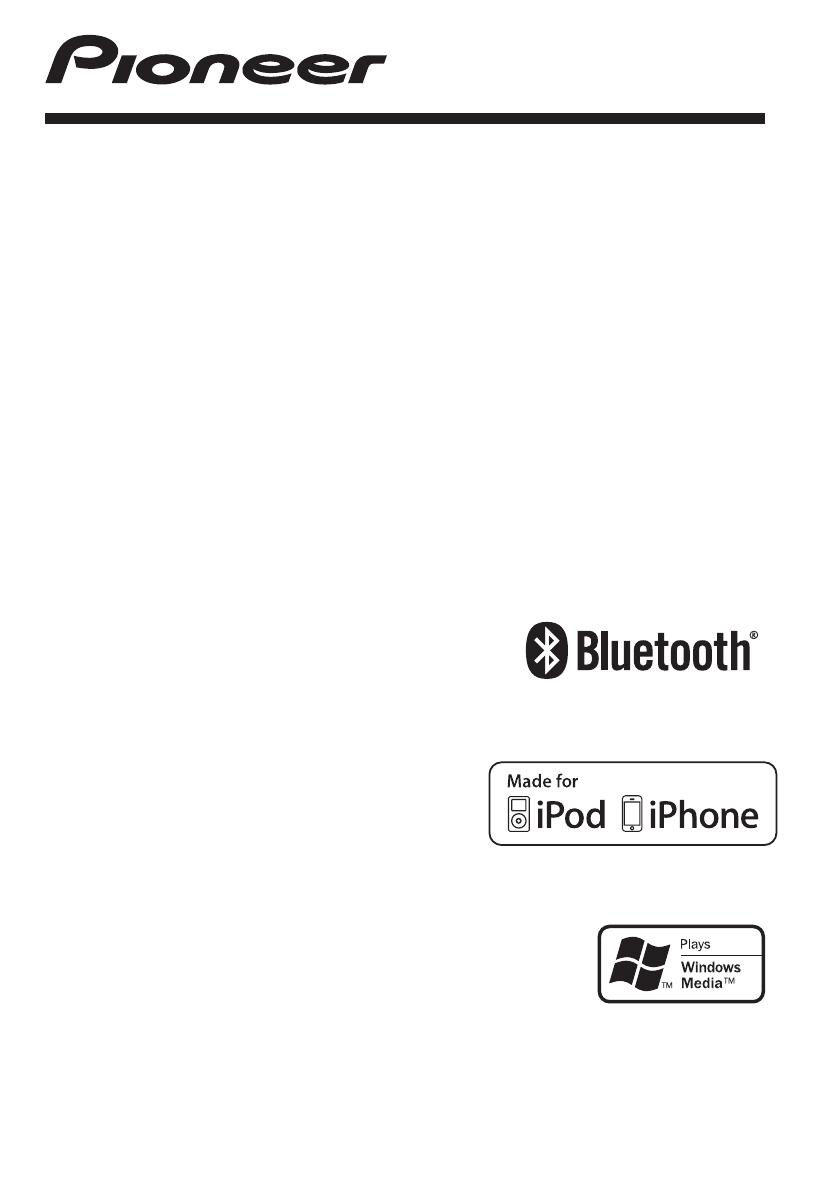 Bedienungsanleitung Pioneer DEH-7300BT (Seite 1 von 32