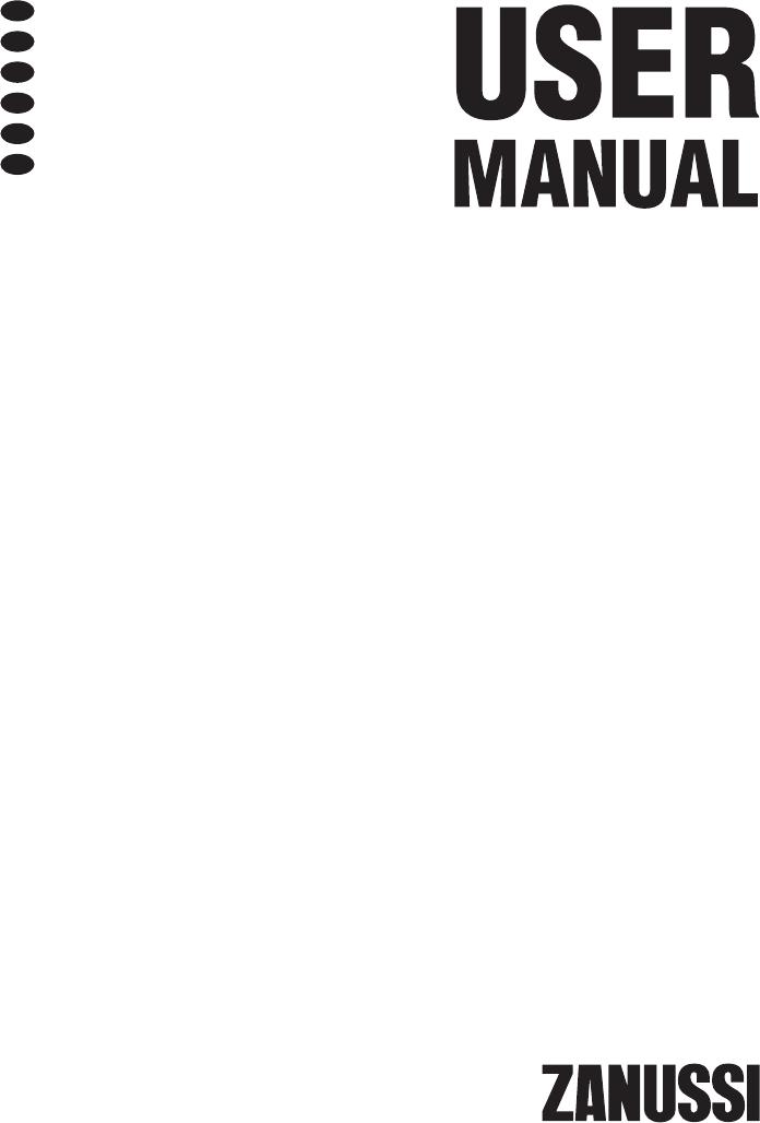 Bedienungsanleitung Zanussi ZDI12010XA (Seite 1 von 76