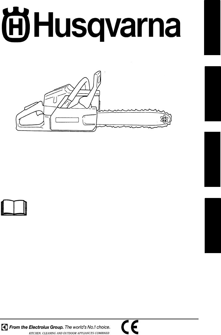 Bedienungsanleitung Husqvarna 136 (Seite 1 von 16