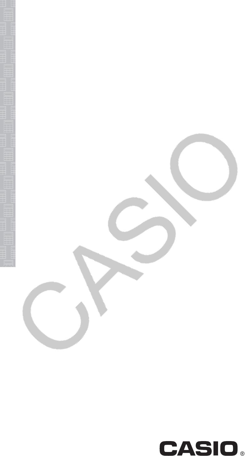 Bedienungsanleitung Casio fx-85EX (Seite 1 von 26