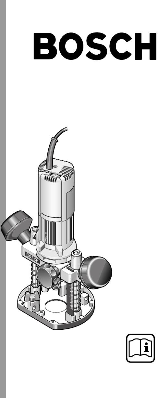 Manual Bosch POF 600 ACE (page 1 of 12) (Dutch)