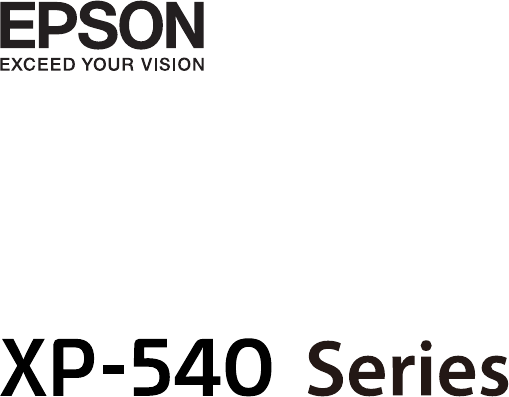 Manual Epson EXPRESSION PREMIUM XP-540 (page 1 of 173