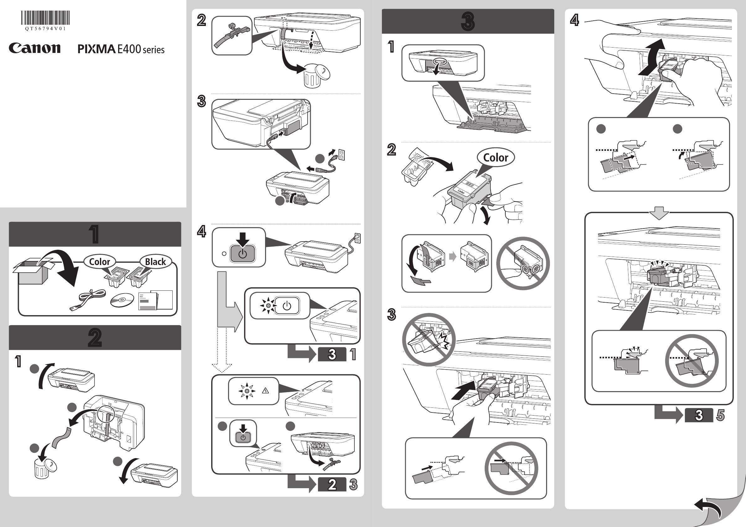 Manual Canon Pixma E470 series Windows (page 1 of 2) (All