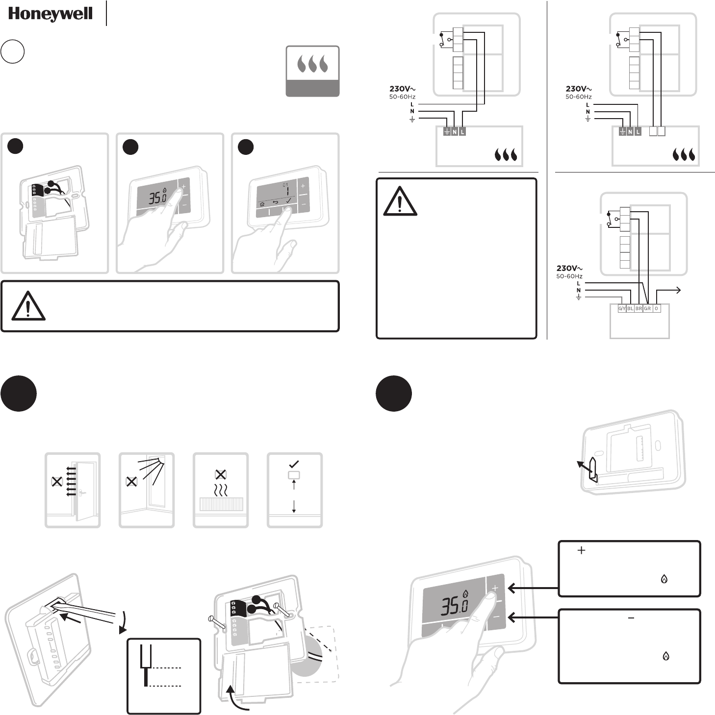 Manual Honeywell T4 (page 1 of 2) (German)
