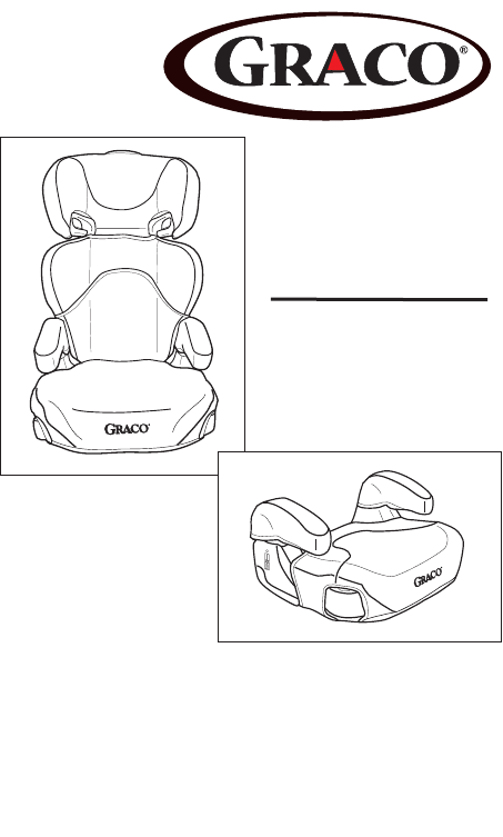 Manual Graco Booster Seat (page 1 of 80) (English)