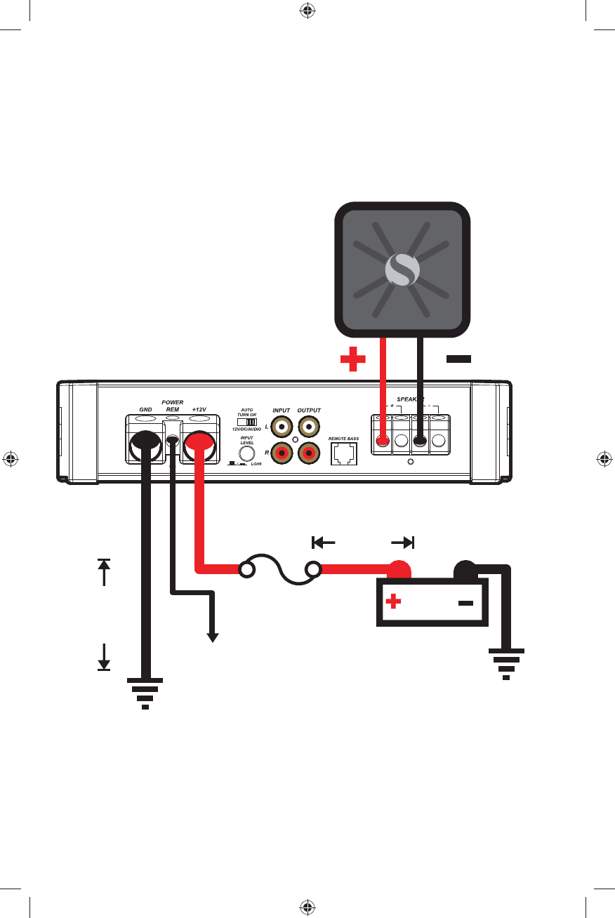 Kicker Wiring Diagrams : Installed Kicker Hideaway Sub Not