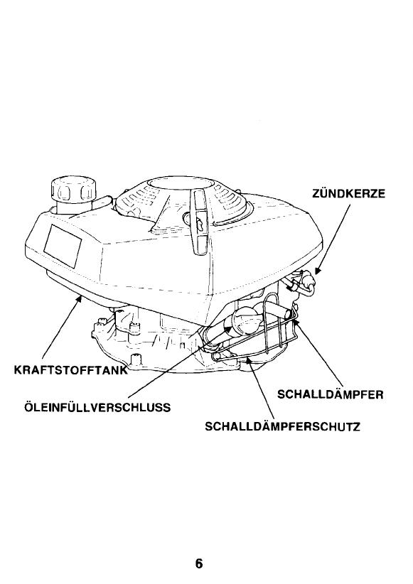 Manual Honda GV 100 (page 6 of 32) (German)