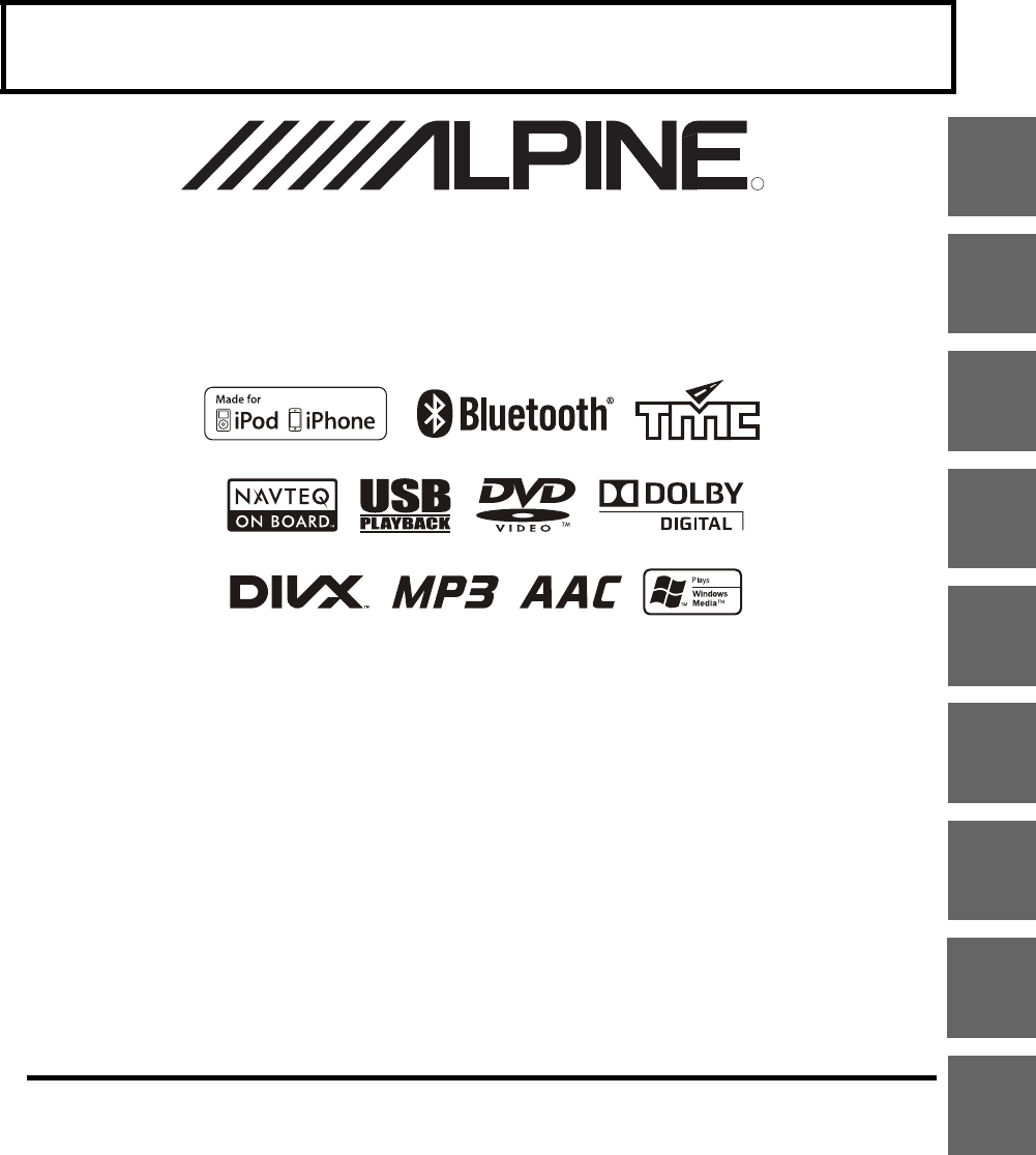 Manual Alpine INE-W977BT (page 1 of 110) (English)