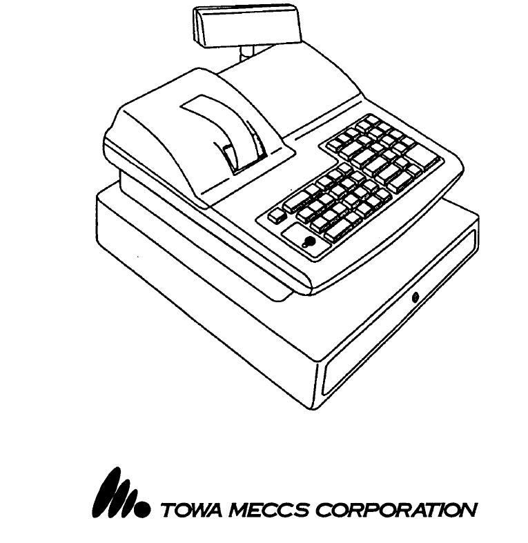 Manual Towa CX-200 (page 1 of 44) (Dutch)