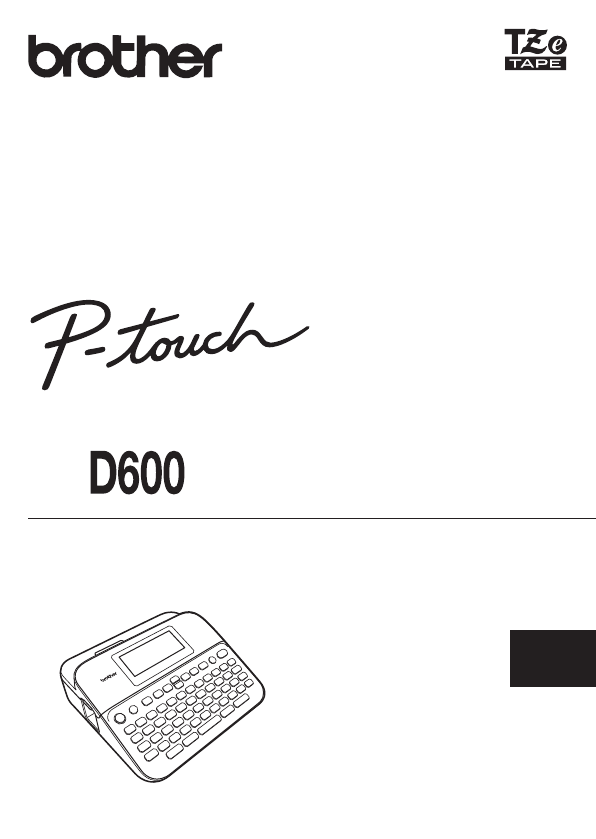 Manual Brother P-Touch D600 (page 1 of 61) (German)
