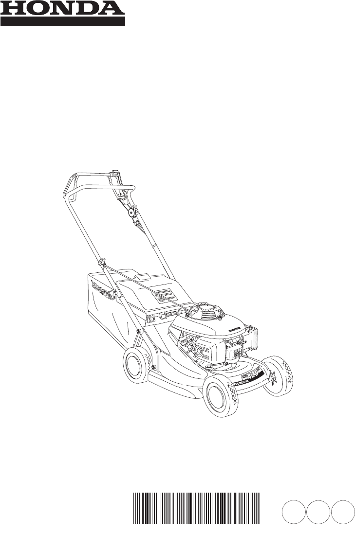 Manual Honda HRB425C (page 1 of 84) (German, English, French)