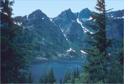Trails around the Libby Montana area