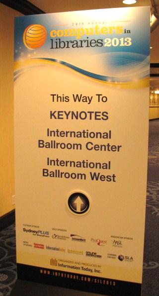 Keynote sign