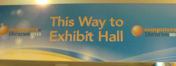 Exhibit Hall Sign