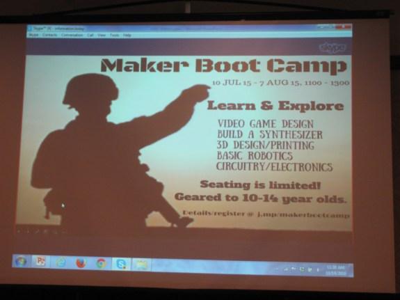 Maker Boot Camp