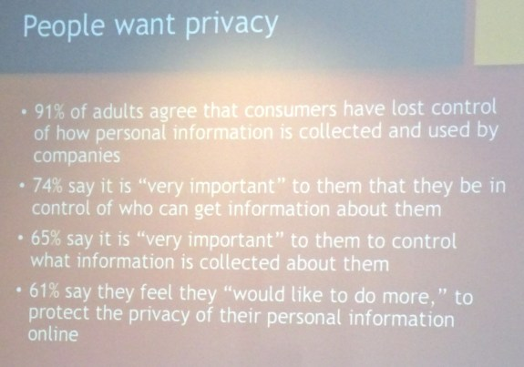 People Want Privacy