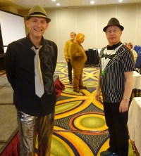 David Lee King (L) and Richard Hulser (R)