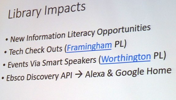 library impacts