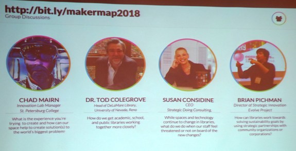 Makerspace Panel