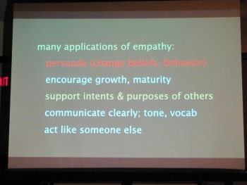 Applications of Empathy