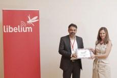 "Mojtaba Mirjafari (ASM) receives the ""Best Interoperability Project Award"""