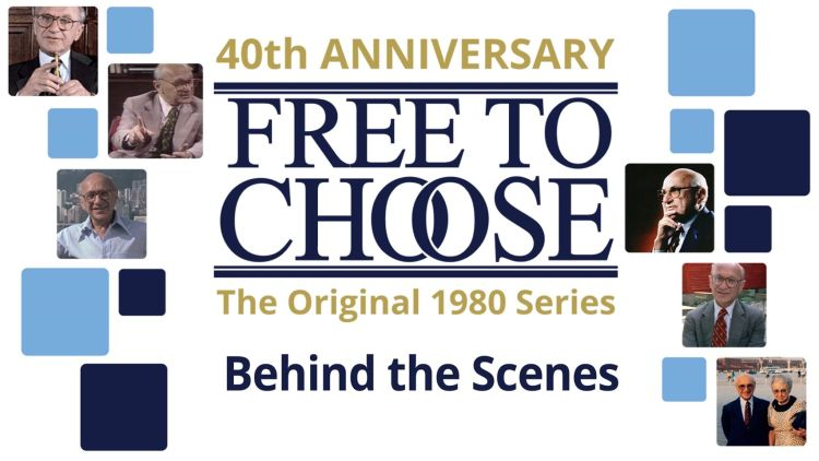40 år siden Milton Friedman laga TV-serien Free to Chose. Illustrasjon: Free to Chose Network.