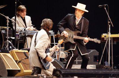 Bob Dylan under Azkena Rock Festival i nord-Spania i 2010. Foto: Dena Flows CC.BY.NC.SA.