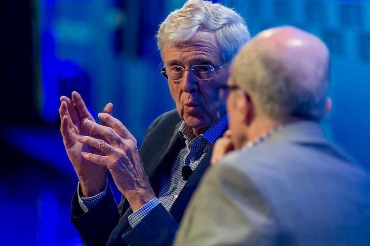 Charles Koch på Fortune Brainstorm Tech i Aspen i 2016. Foto: Kevin Molone CC.BY.NC.SA.