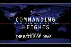 Tittelskjermen på dokumentaren Commanding Heights.