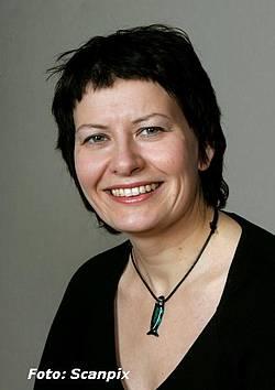Helga Pedersen opptrer som en useriøs ungdomspolitiker i den politiske debatten. (Foto: Scanpix)