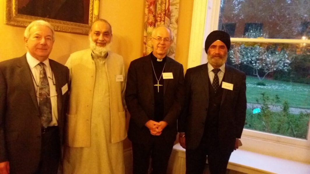 Peterborough Liberal Jewish Community with Archbishop of Canterbury