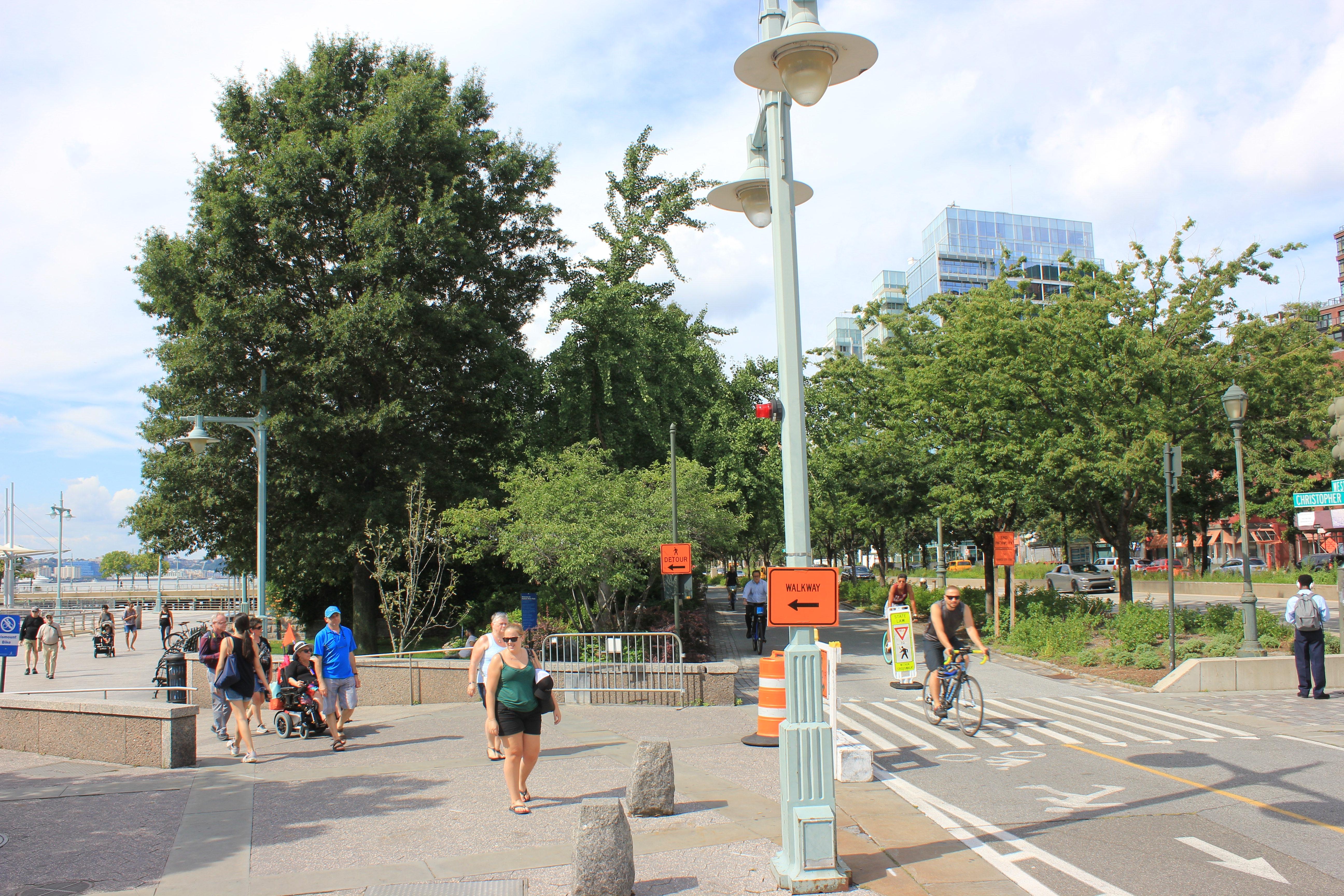 New York S Pedestrian Infrastructure Gets Even Better Liberal