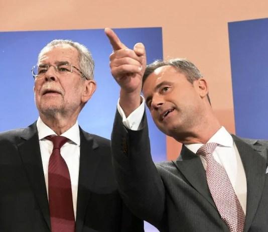 austria elezioni annullate alexander van der bellen contro norbert hofer