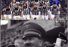 Fotomontaggio Hitler Ticinia Robecchetto