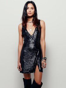 gold sequin sexy in sequins slip free people dress sequins liberata dolce all that glitters post fashion blogger blog fall winter 2015