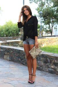 date night liberata dolce bohemian fashion spring 2016 style stylist outfits denim cutoffs blazer sexy casual chic