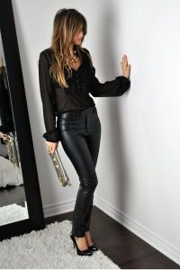 date night liberata dolce bohemian fashion spring 2016 style stylist outfits inspiration basic black white classy casual sexy chic