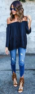 date night liberata dolce bohemian fashion spring 2016 style stylist outfits inspiration denim casual sexy