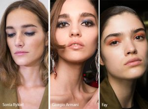 spring summer makeup beauty trends 2017 pastel eyes smokey peach pink aqua