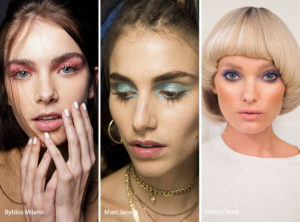 spring summer makeup beauty trends 2017 pastel eyes smokey