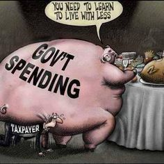 government spending pig 2