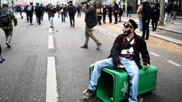 «Dès qu'on a l'occasion de manifester, on manifeste» – Libération