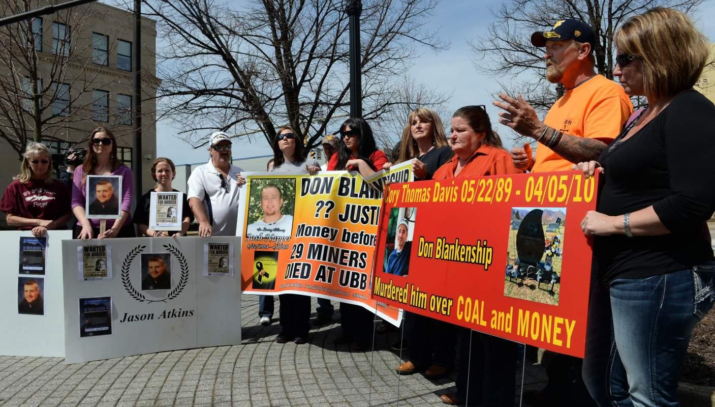 Capitalist injustice: Coal baron gets wrist slap for killing 29 miners