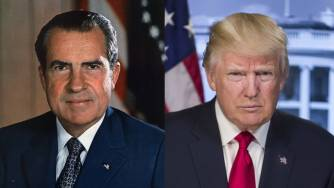 Image result for trump nixon