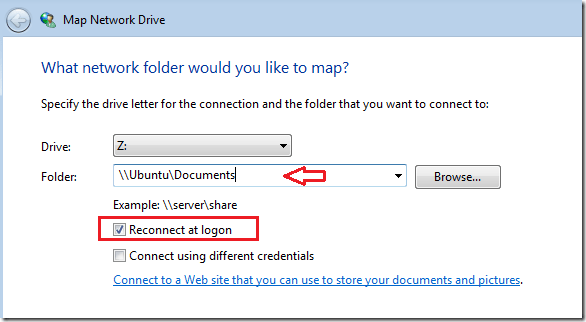 how to share drive in windows 7