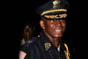 Former police Boss, Chris Massaquoi, is under police probe in connection to the death of Journalist Tyron Brown. According to reports, Jonathan Williams, the suspected murderer of the journalist, told police investigators that he immediately called Mr. Massaquoi who drove on the scene, where the deceased was killed.