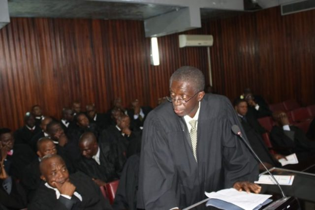 Given this position of the LNBA, our presence here today is not an approval of the reason for which we were cited, for the Constitution does not require such. We are here because the failure of a lawyer to appear and perform any service required by the Court is contemptuous. Personally, I should be in a joyous mood and celebrating for the elevation of Justice Kaba, as my former student during his undergraduate studies at the University of Liberia in the 1980s. But, I cannot because another former student of mine, Justice Ja'neh was removed unconstitutionally. Officially, as president of the LNBA, I cannot celebrate because to do so will be contrary to the official position of the LNBA.