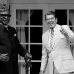 "The two were discussing the Tanzanian delegation's reaction to the vote after delegates danced in the chamber. ""To watch that thing on television, as I did, to see those, those monkeys from those African countries – damn them, they're still uncomfortable wearing shoes!"" Reagan tells Nixon, who erupts in laughter. The recording was first published in the Atlantic magazine in an article written by Tim Naftali, who directed the Richard Nixon Presidential Library and Museum from 2007 to 2011."
